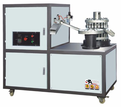 Kapak katlama makinesi (Cap Folding Machine)