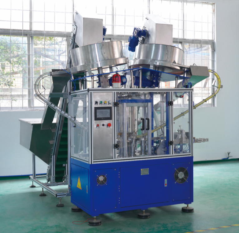 Kapak montaj makinesi (Cap Assembly Machine)